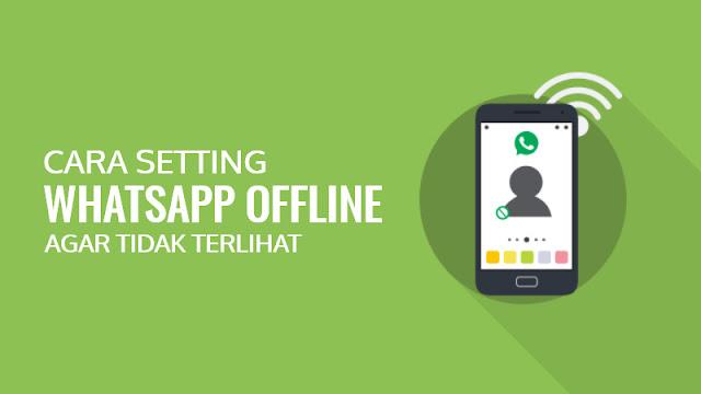 3 Cara Membuat WhatsApp Tidak Terlihat Online (Offline)