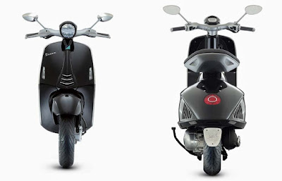 Vespa 946 Emporio Armani front and rear view