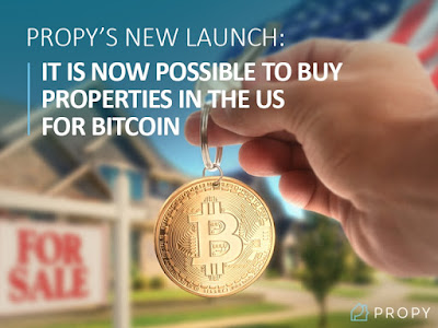 Buy properties in the US for Bitcoin