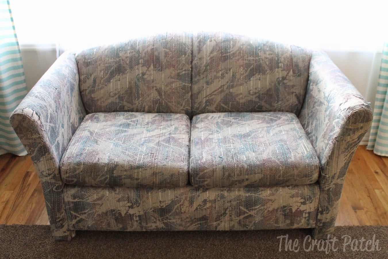 The Saving of An UGLY Couch - The Craft Patch