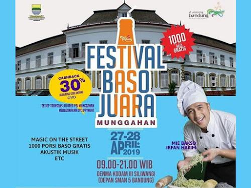 Festival Baso Juara 2019 Bandung