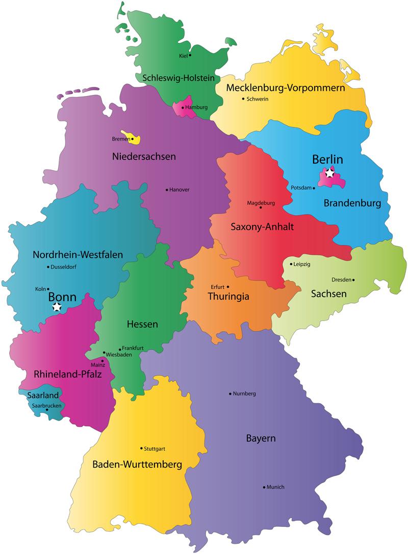 germany tourism germany map berlin hotels. Black Bedroom Furniture Sets. Home Design Ideas