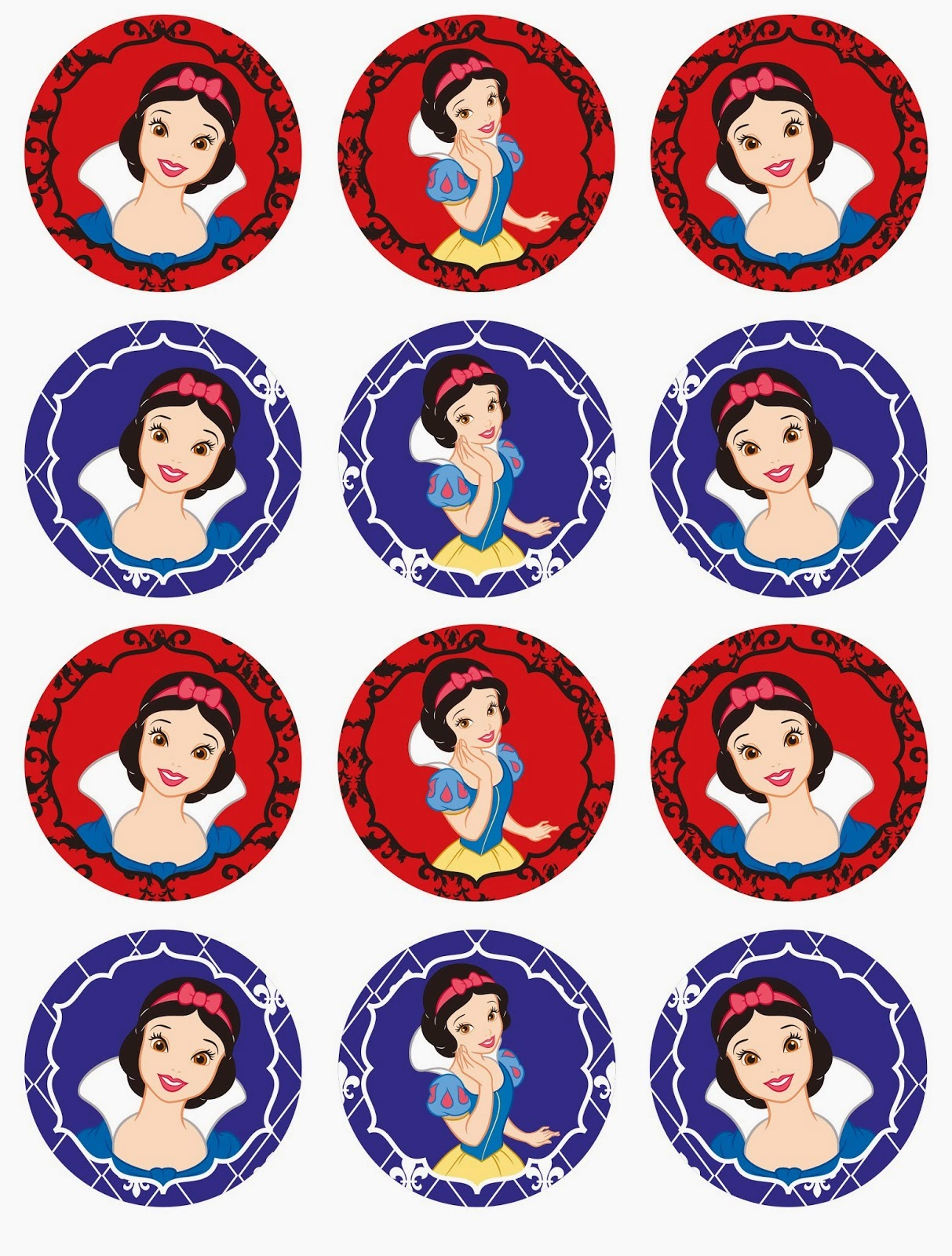 image about Snow White Printable called Adorable Snow White Absolutely free Printable Mini Package. - Oh My Fiesta! within