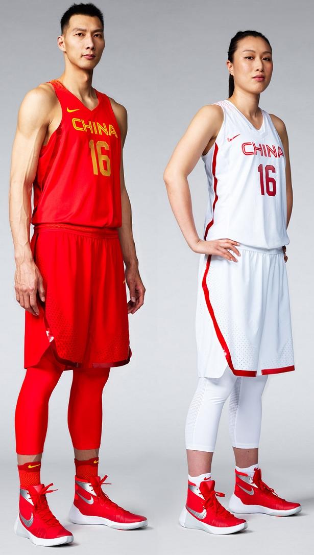 Nike lança uniformes de basquete da China para Rio 2016 - Show de ... 5f7260bb4381f