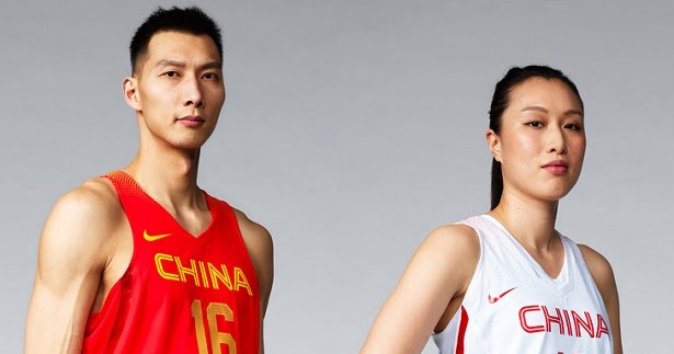 Nike lança uniformes de basquete da China para Rio 2016 - Show de Camisas f859b8d1aba2a