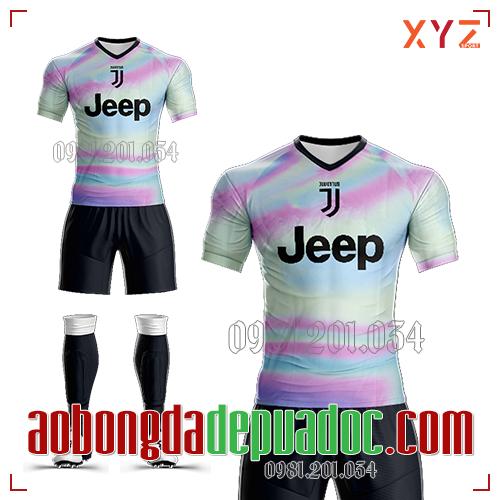Áo Juventus 2019 Training Mẫu 1