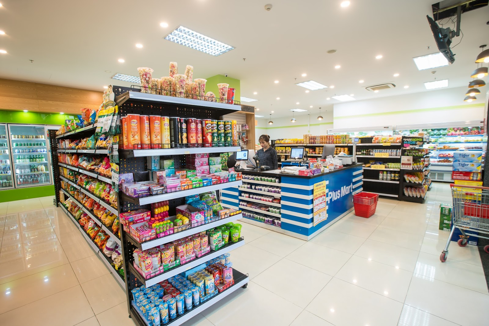 Cửa hàng tự chọn tại Goldmark City