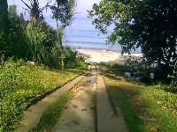 Panorama Pantai Pancur Di ketika Anda gres tiba di Pantai Pancur maka Anda akan disambut o Pantai Pancur, Pantai Menakjubkan Di Taman Nasional
