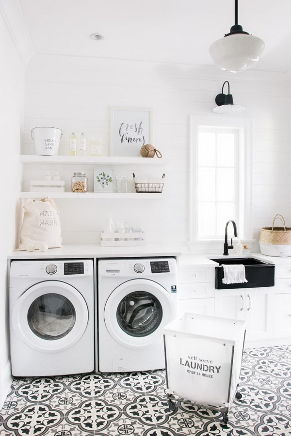 Creative Laundry Rooms Decor Ideas - Room Organization Ideas 2