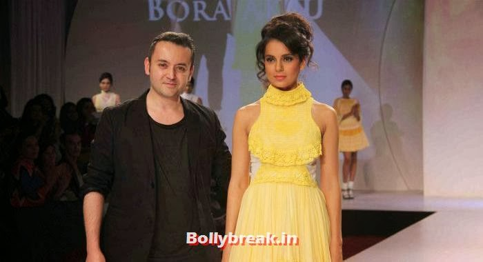 Bora Aksu, Kangana Ranaut, Kangana & Jacqueline at Signature International Fashion Weekend 2013