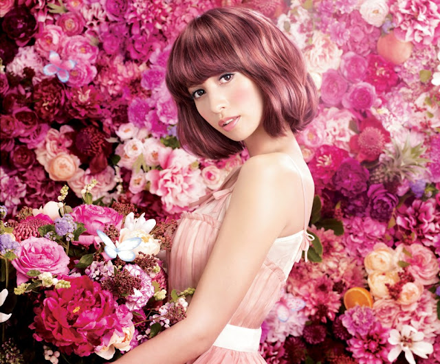 Ma Cherie, latest Hair Care, Hair Styling, hair Treatment, shiseido japan, kawaii hair style, ma cherie model