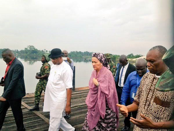 Minister visits Ogoniland ahead of environmental cleanup