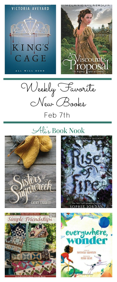 Weekly Favorite New Books That Come Out Feb 7