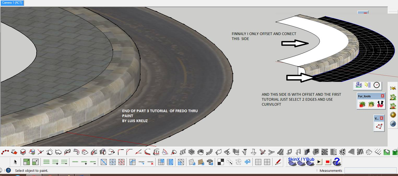 SKETCHUP TEXTURE: Sketchup tutorial - As perfectly texturize a