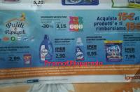 Logo ''Puliti e Ripagati'': spendi 15€ e riprendi 15€ con Finish, Sole, Air Wick, Vanish, Napisan, e Calgon