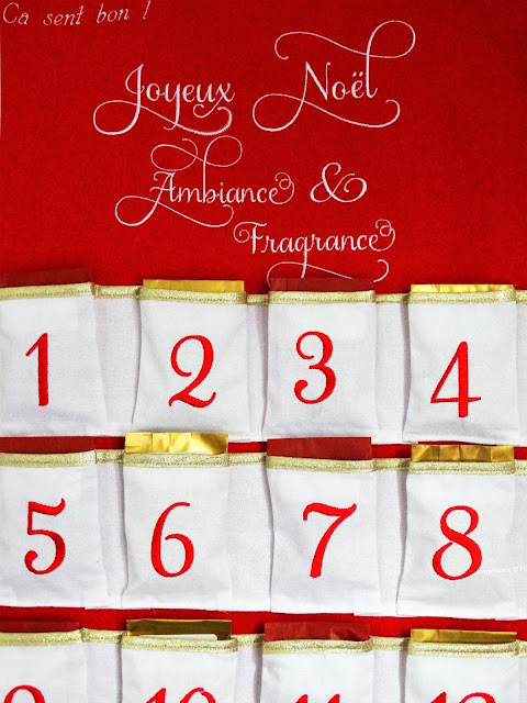 Avis Calendrier de l'Avent de Ca Sent Bon !, blog bougie, blog parfum