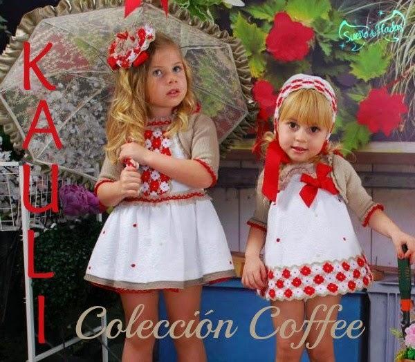 Vestidos niña con flores bordadas - Kauli