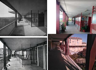 224 Viviendas para obreros en Minas de Rio Tinto Huelva Jose Joaquín Aracil 1967