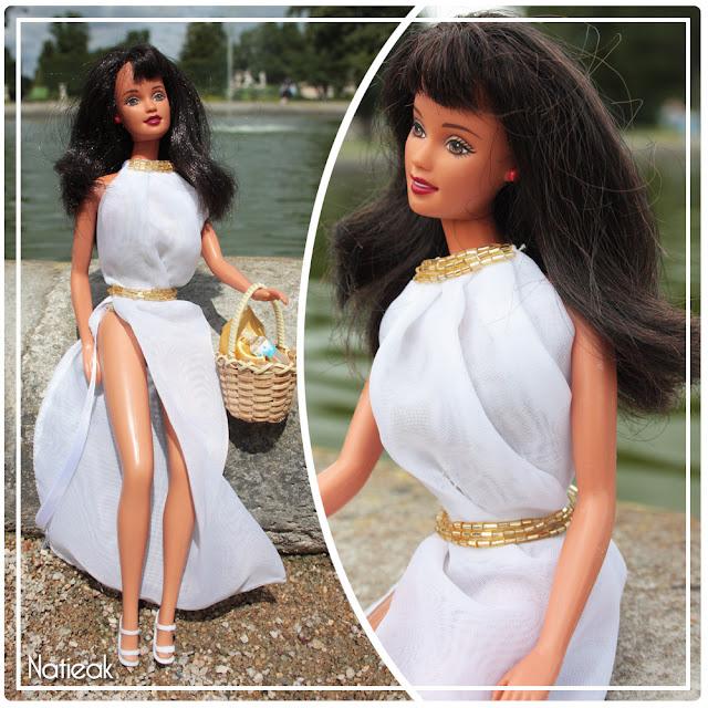 tuto robe de plage élégante pour barbie