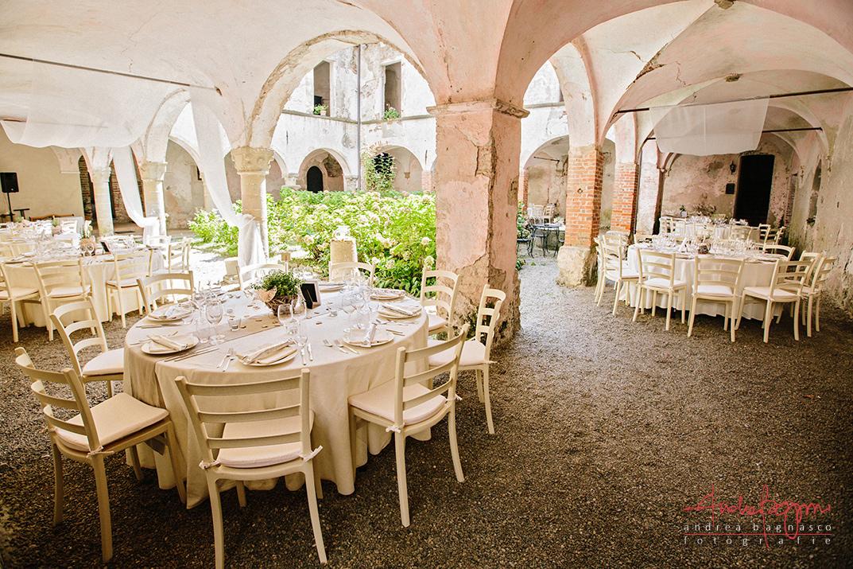 mise en place matrimonio relais del monastero