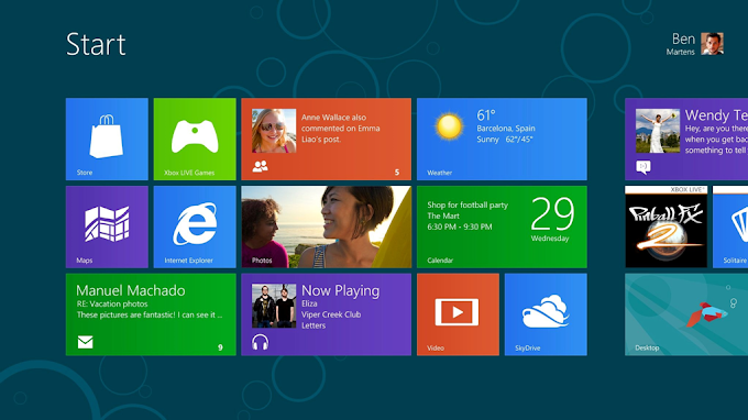 Download Windows 8 Consumer and Developer Previews