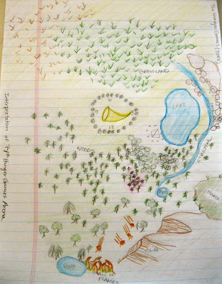 The 74th Hunger Games Arena Map Librarianism Ch...