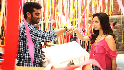 Arjun Kapoor With Shraddha Kapoor HD Pic In Half Girlfriend