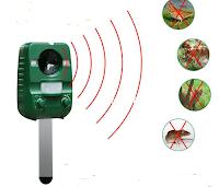 Logo Vinci gratis repellente a ultrasuoni da giardino per animali ( piccoli e grandi)