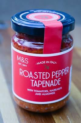 roasted pepper tapenade