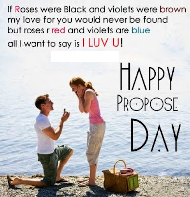 Happy Propose Day Status Messages for Whatsapp Facebook 2 - Valentines Day 2018 Hd Wallpapers | Pictures | Photos | Images | Pics