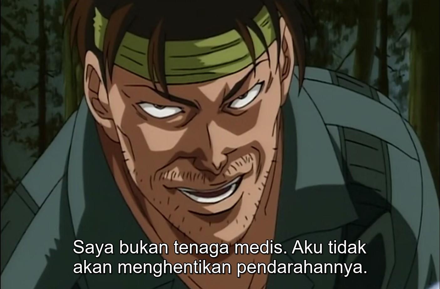 Baki The Grappler Episode 10 Subtitle Indonesia