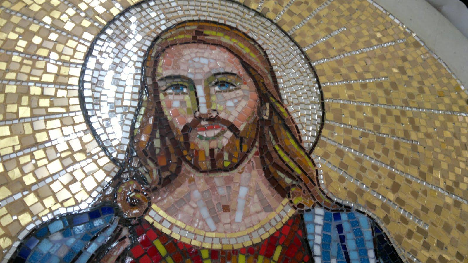 Conosciuto Gesu Sacro Cuore mosaici veneziani Vincenzo Greco DL22