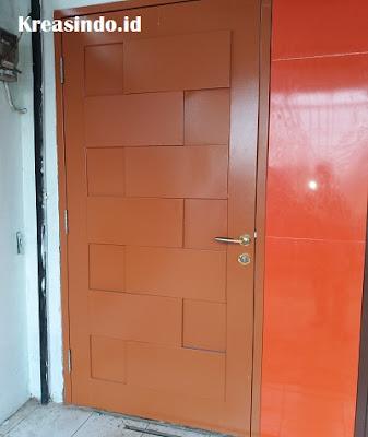Jasa Pembuatan Pintu Tunggal Besi Panel untuk Pintu Kamar Rumah