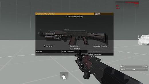 Arma3用銃の弾づまり状態を拡張するMOD
