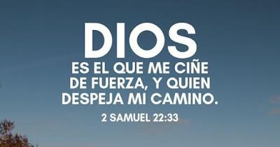 Dios me ayuda y guía mi camino