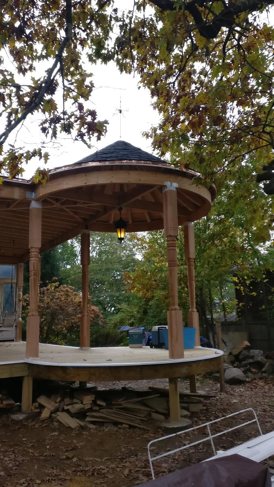 Construction Pergola Bois Plan queen anne's revenge: roofing the beast