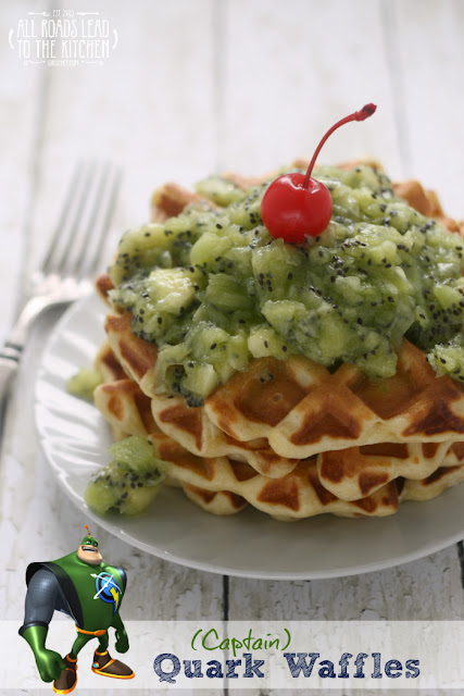 (Captain) Quark Waffles inspired by Ratchet & Clank
