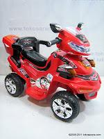 Motor Mainan Aki Pliko PK668 ATV