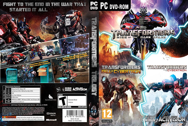 Capa Transformers Trilogy PC