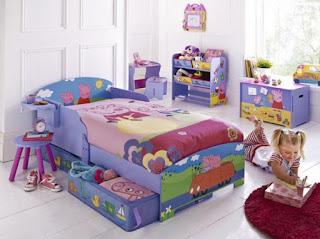 dormitorio tema Peppa pig