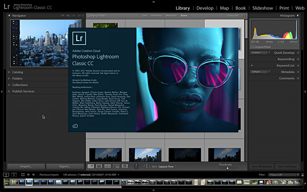 تحميل برنامج Adobe Photoshop Lightroom Classic CC 2019 Free
