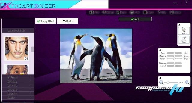 FX Cartoonizer Versión 1.1.2 - Convertidor de Foto a Cómic