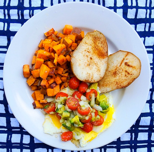 Plain Diced Sweet Potatoes: THE EAT YOUR HEART OUT DIET : Whole30 Recipe // Diced