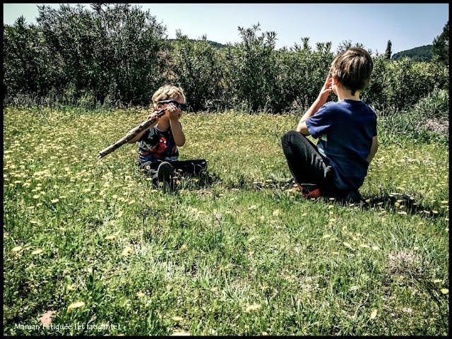 apprentissage enfant nature