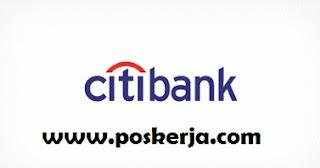 Lowongan Kerja Terbaru CITI Bank April 2018