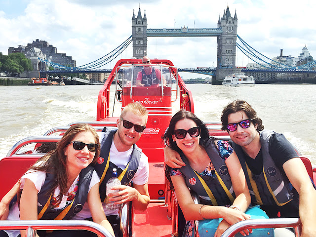 London Rib Voyages Thames speedboat trip