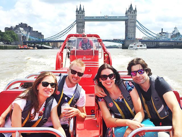 London Rib Voyages Thames speedboat trip