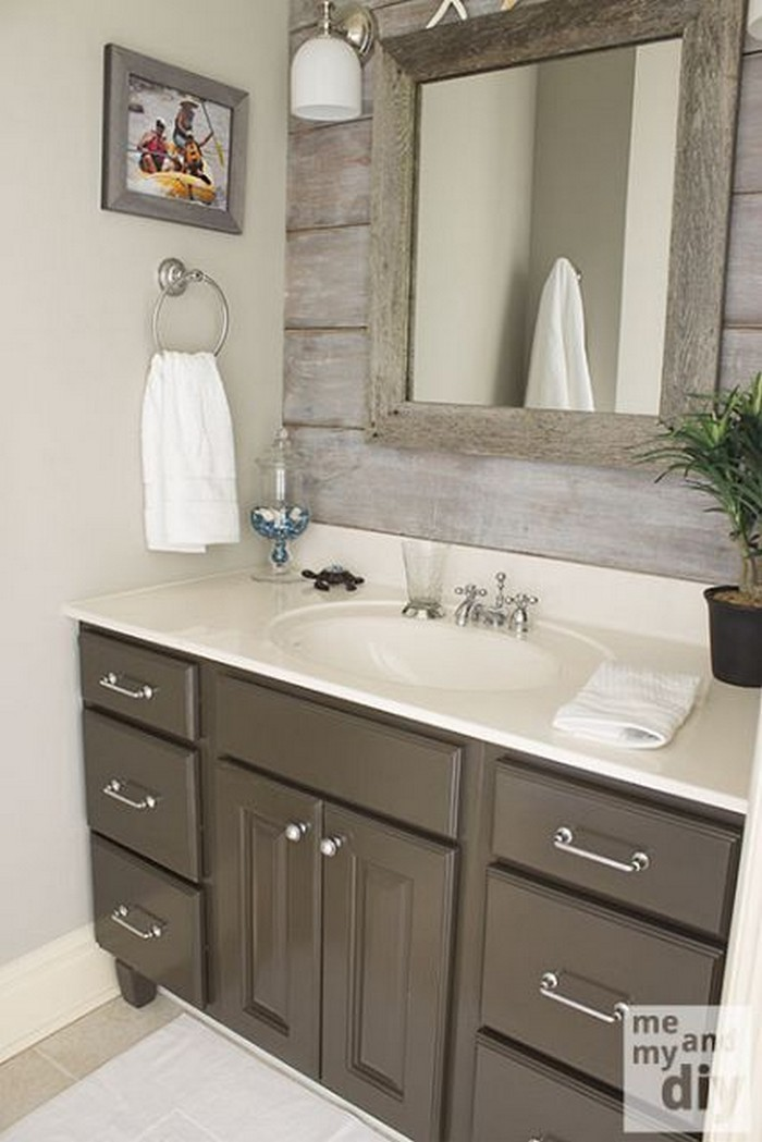 What A Great Ideas! 60+ Bathroom Pallet Projects On a ... on Great Bathroom Ideas  id=77617