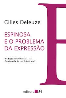 livro Espinosa e o Problema da Expressão deleuze