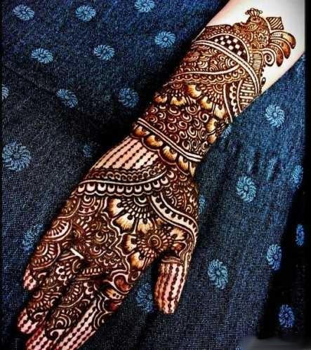 Henna Tangan Pengantin India